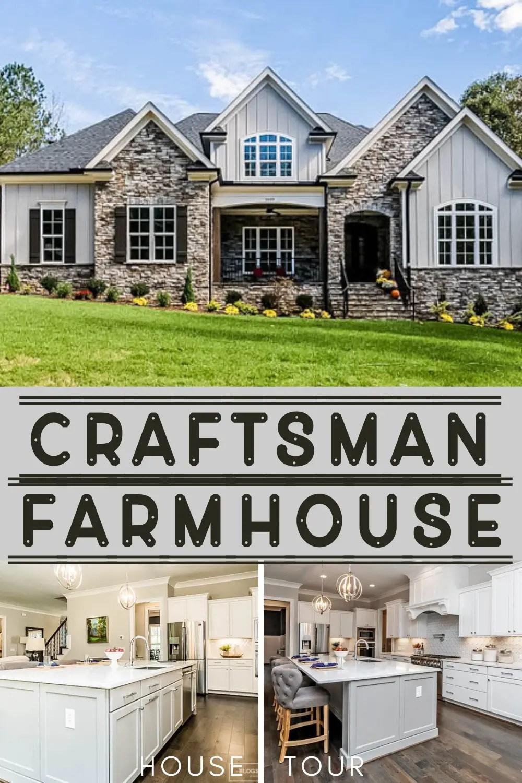 Craftsman Farmhouse Parade of Homes Tour