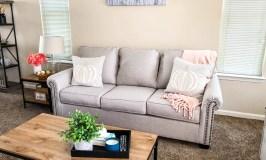 Neutral Fall Decor | Living Room Progress
