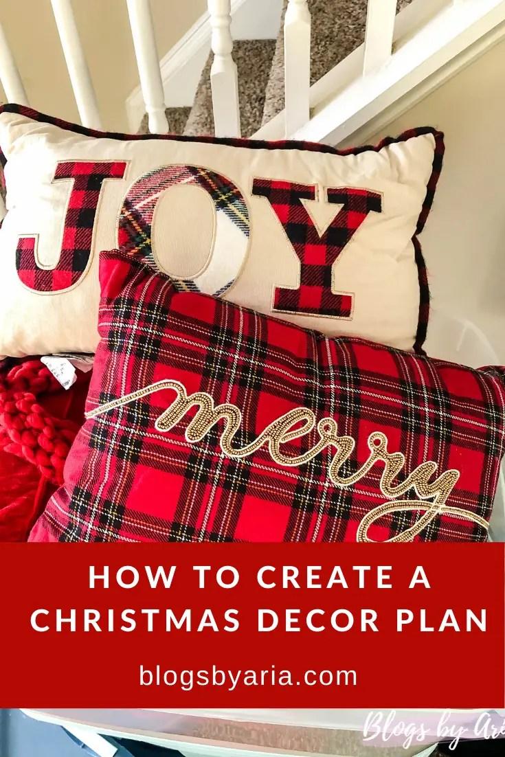 How to Create a Christmas Decor Plan
