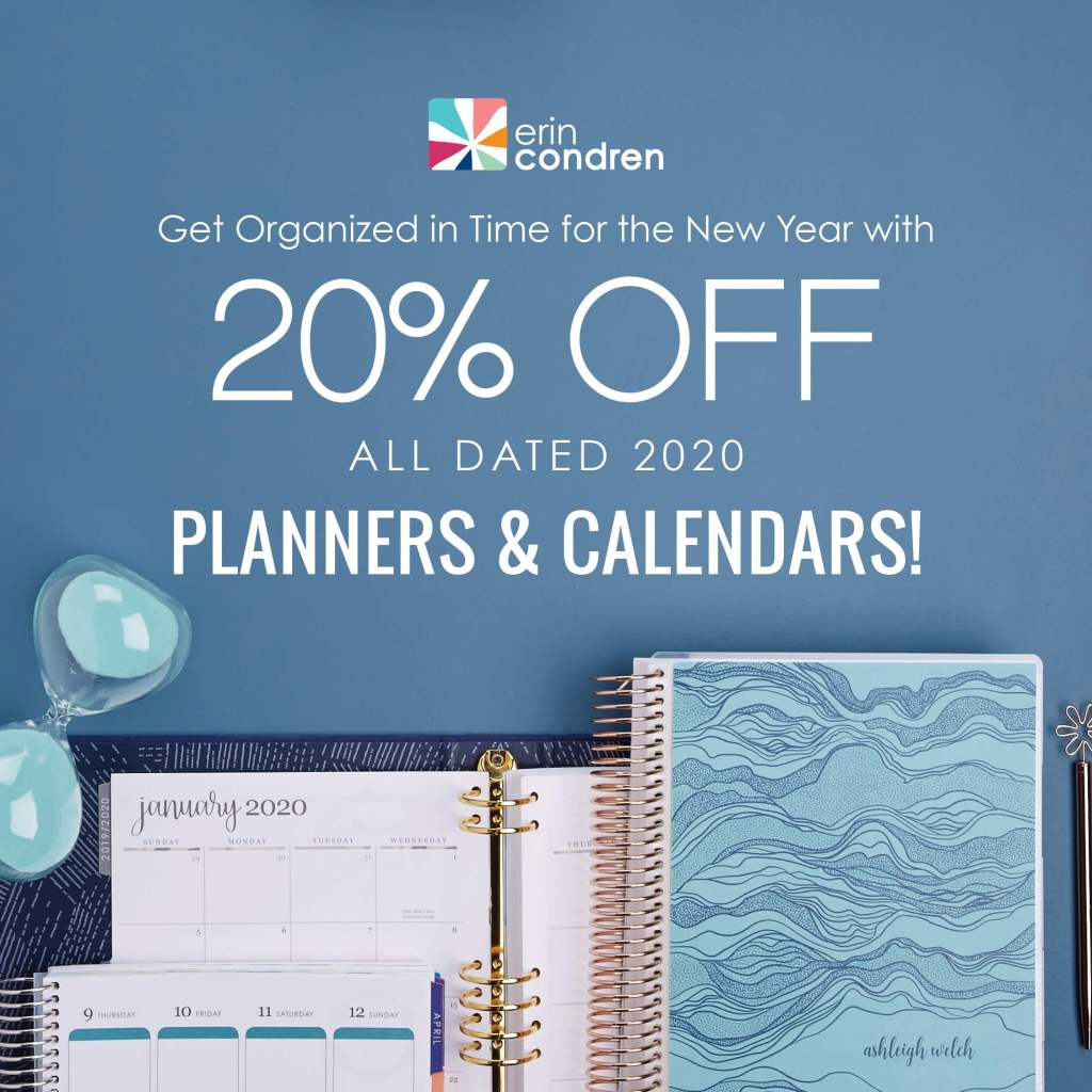Erin Condren Planners on Sale