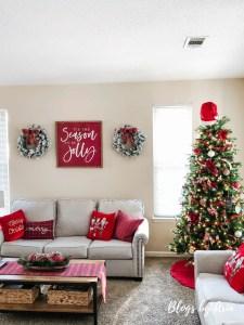 Our Tartan Plaid Christmas Tree