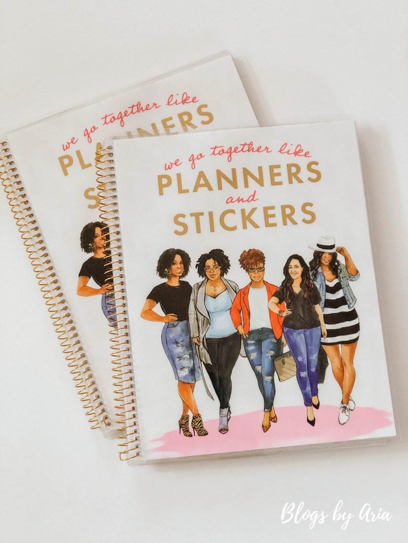 planner sticker album