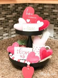 Valentine's Tiered Tray