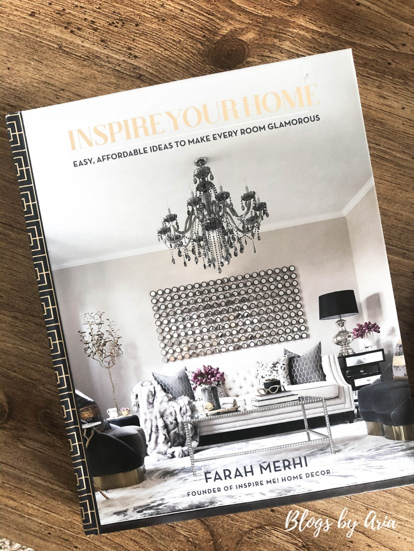 Inspire Your Home coffee table book