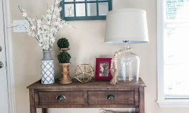 Entryway Table Decor