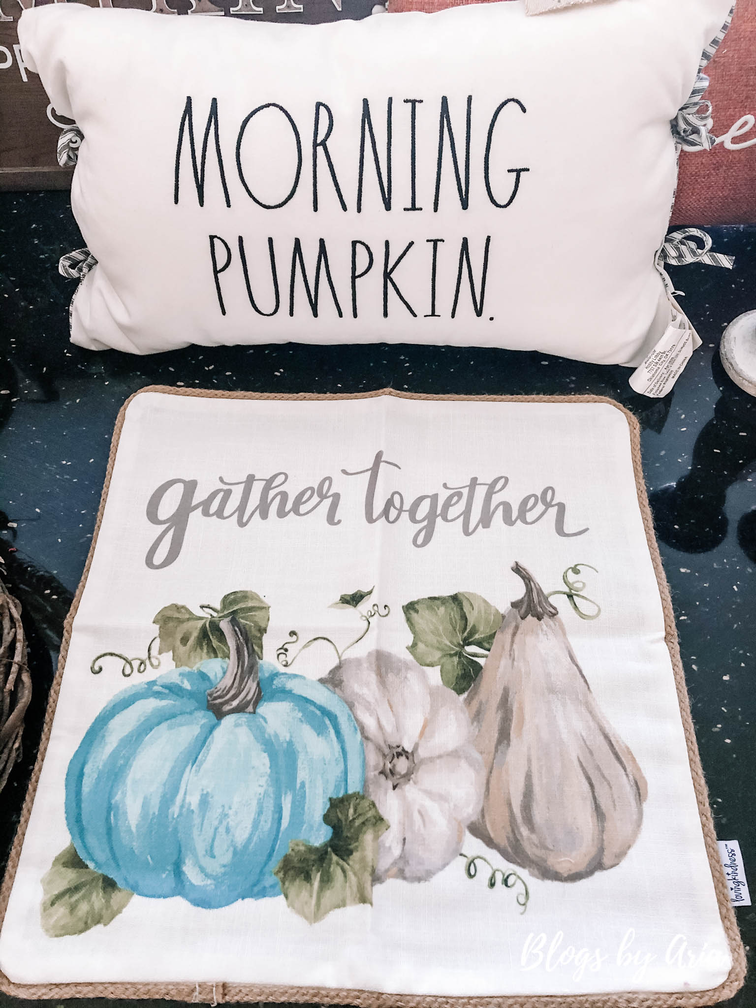 fall pumpkin pillows haul