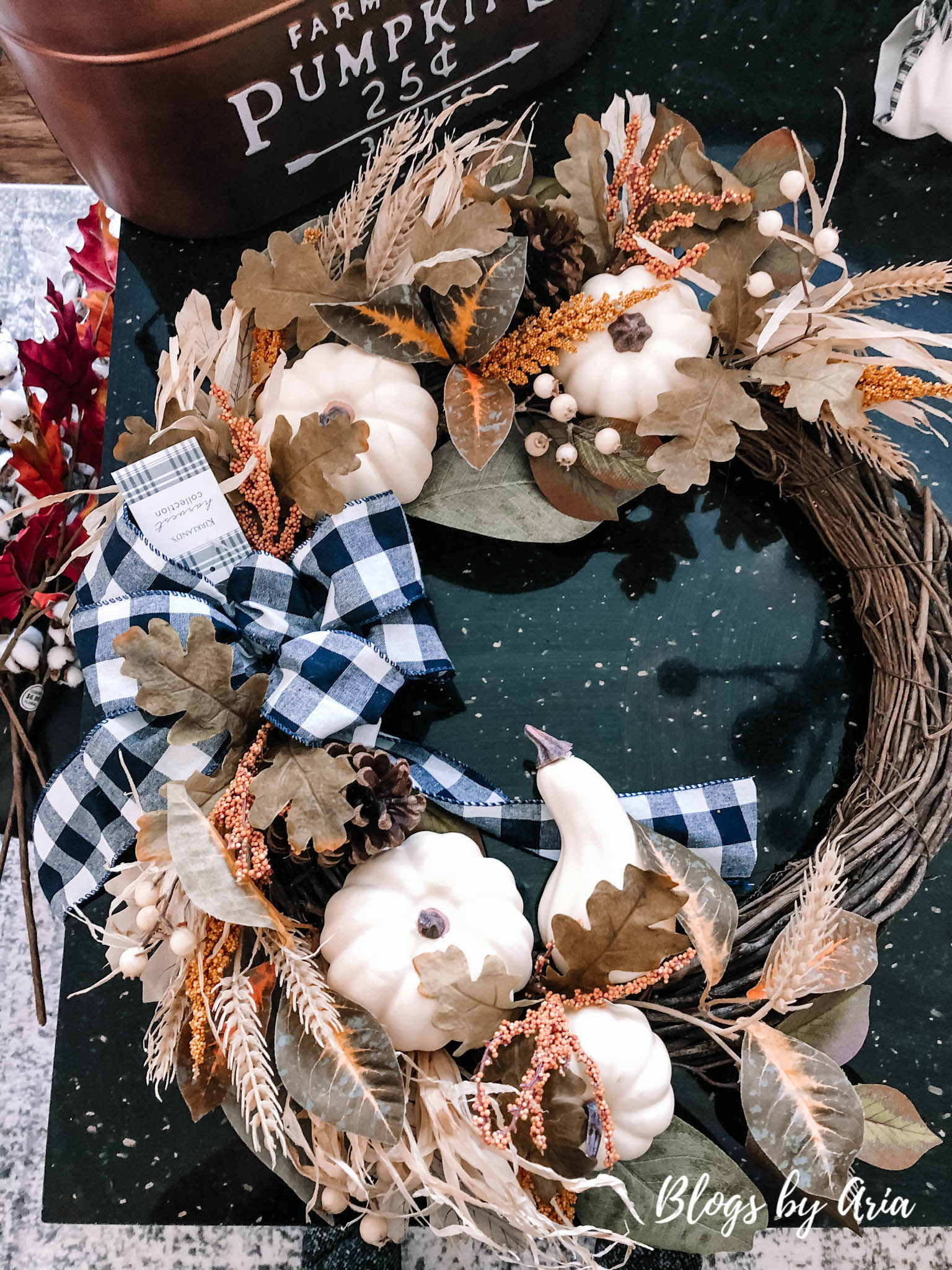 fall wreath decor haul
