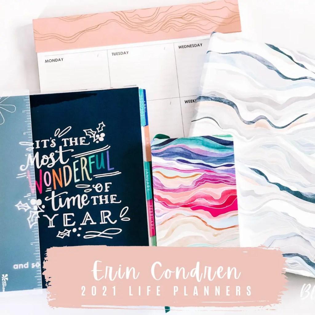 Erin Condren 2021 Life Planners