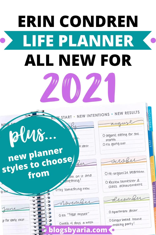 2021 Erin Condren Life Planners