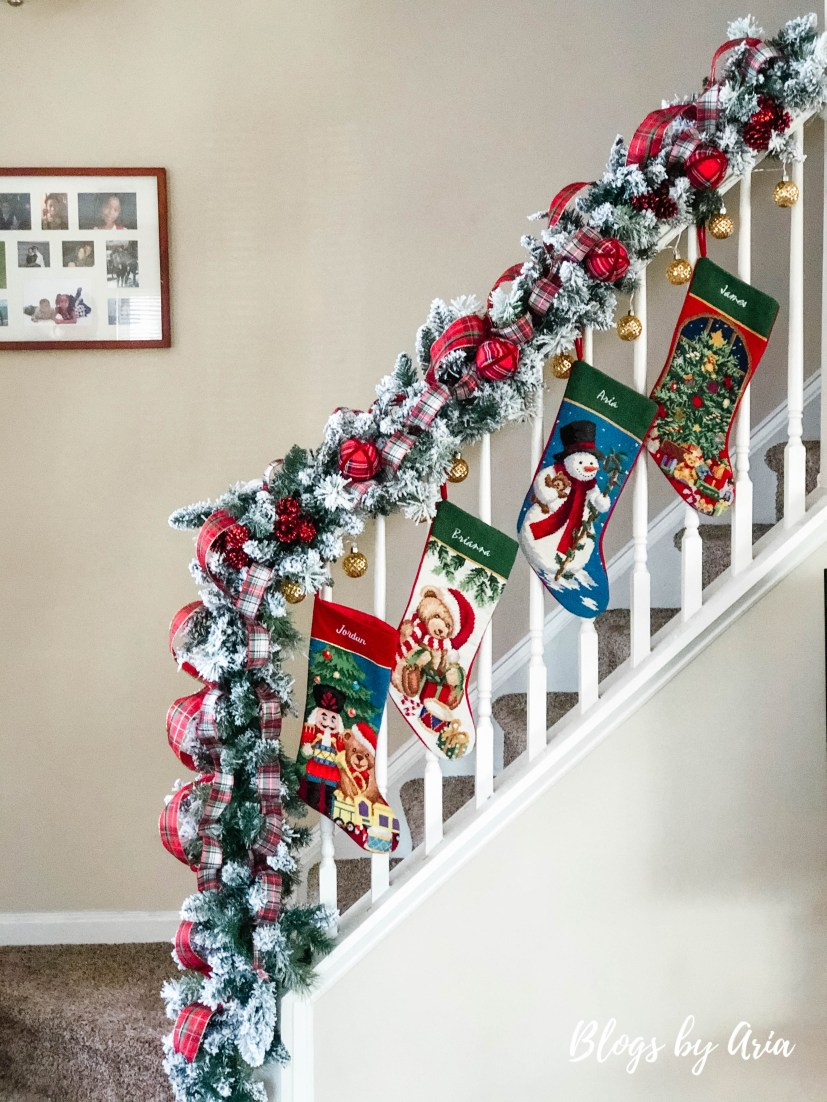 personalized Christmas stockings