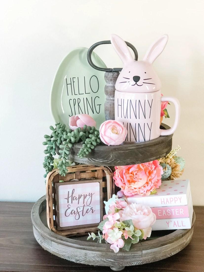 Easter Rae Dunn tier tray