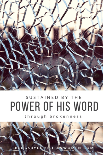Finding the blessings of God through brokenness