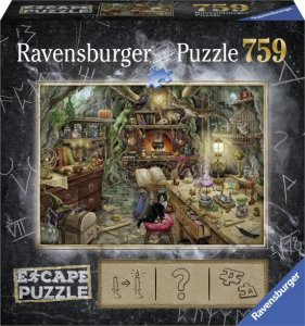 Ravensburger escape room puzzel 3 Kitchen of a witch - 759 stukjes