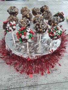 cake pops kerstdiner