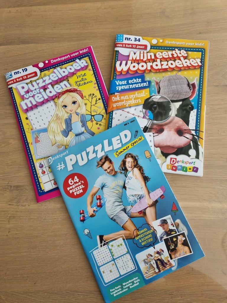 Blogsbyingrid - Denksport puzzelboeken