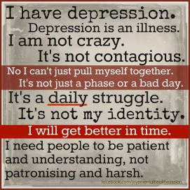 Depression Is An Illness