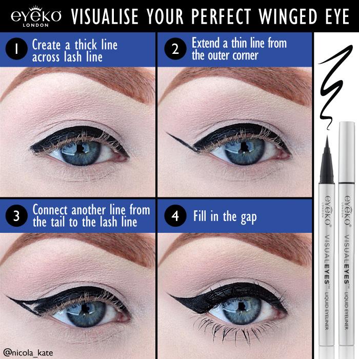 Visualise Your Perfect Winged Eye Eyeko
