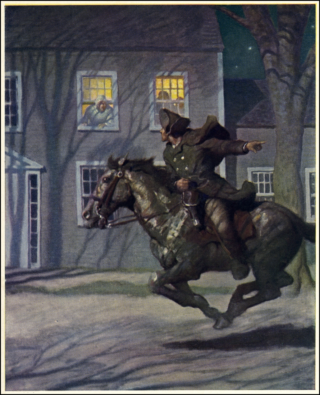 What Was The Name Of Paul Revere S Horse