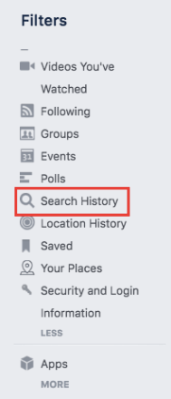 How do Clear Your Facebook Search History 2020 | Clearing Search History