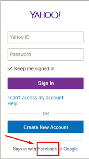 Yahoo Mail Sign In Using Facebook Account 2020
