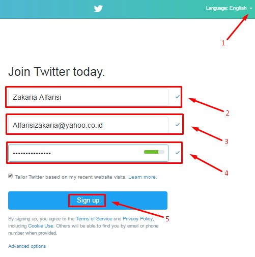 How to Sign Up Twitter Account | Creat New Account on Twitter