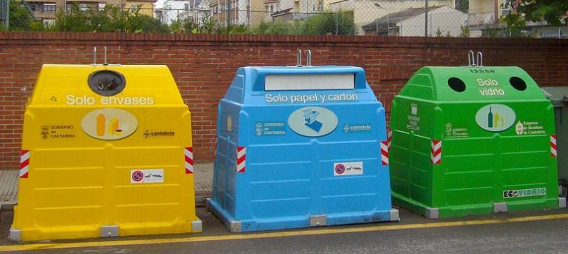 Resultado de imagen de contenedores para reciclar