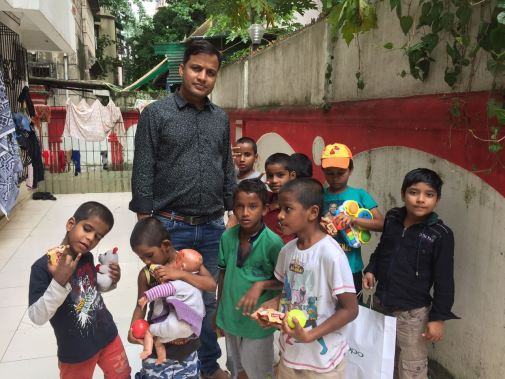 #DaanUtsav with Kids