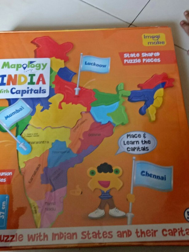 Puzzle of Indian states