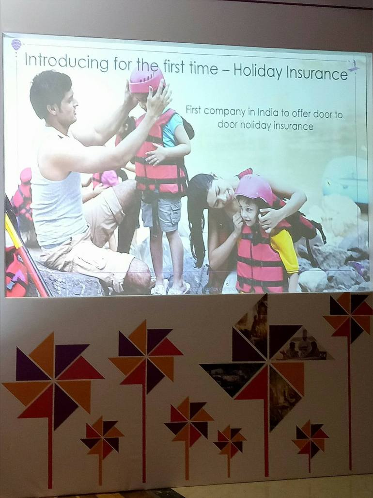 holiday insurance slide
