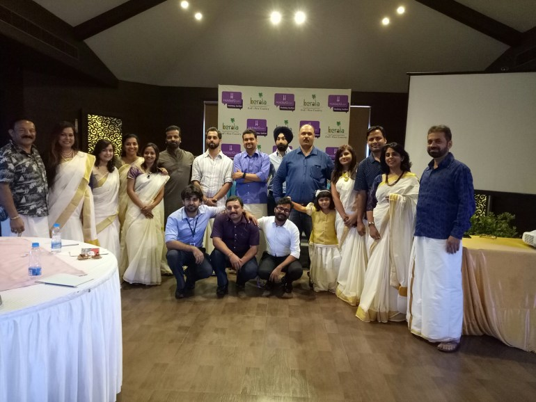 Travellers meet with HolidayIQ and Kerala Tourism director