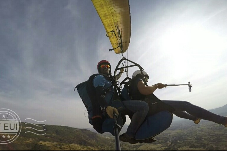 Paragliding at Nirvana Adventures Near Mumbai