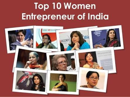 Top 10 Indian Women Entrepreneur to follow this International women's day