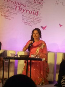Juhi Chawla at #RuleOutThyroweight event