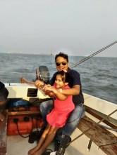 sailing at getaway of india