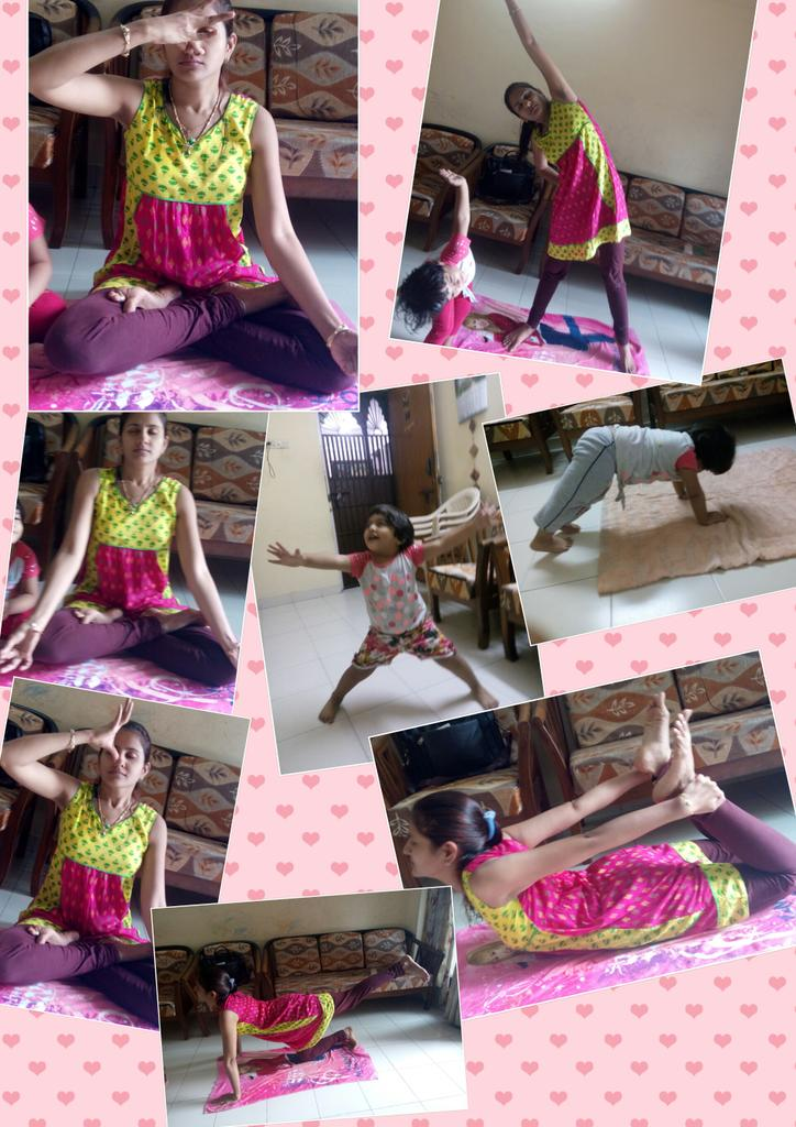 excercise with kids