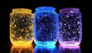 Fairy Light Jars With Kids | AtoZ Blogging Challenge with #BlogchatterA2Z
