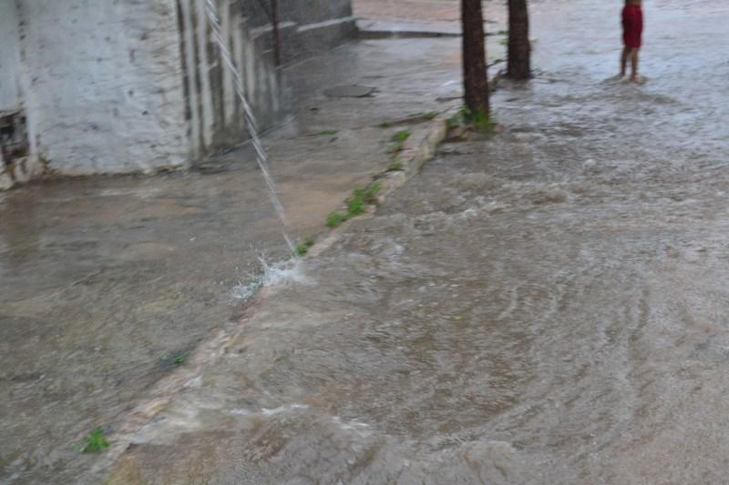 IMAGENS: Foram 45 minutos de chuva forte em São Paulo do Potengi ...