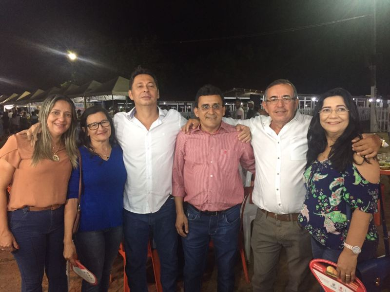 SPP NEWS: FOTO: Dr. Ivan com o prefeito Naldinho na Caprifeira de São Paulo  do Potengi