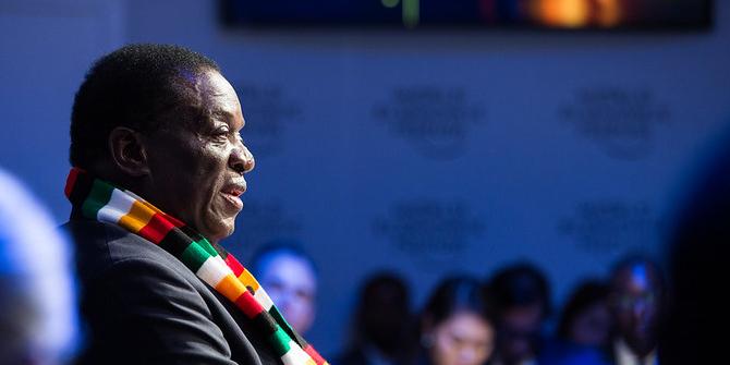 Emmerson Mnangagwa at the SADC Solidarity Conference