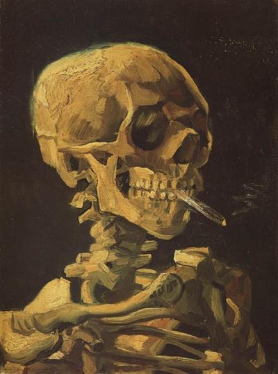 fumar o no fumar. VAN GOGH