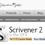 Scrivener: A Fabulous Writing Program