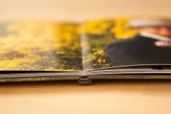 Panoramabindung / wertiges Fotopapier