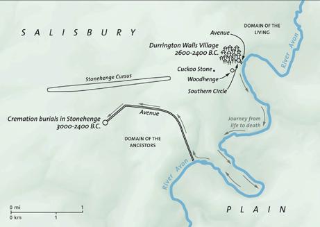 """Bluehenge si trova all'incrocio fra """"l'Avenue"""" e il fiume Avon (Micki Laws/National Geographic Society)"""