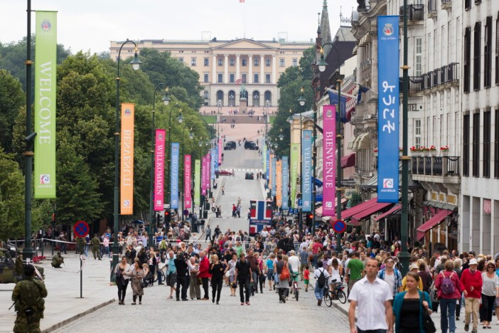 Karl Johans gate, Oslo - Photo: ROALD, BERIT/AFP/Getty Images