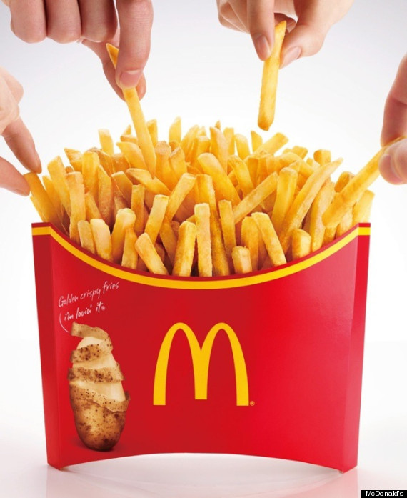 mcd french fries