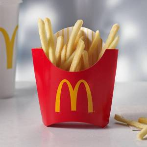 MCd french fries Free