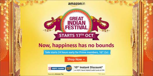 Amazon Great Indian Festival 2021