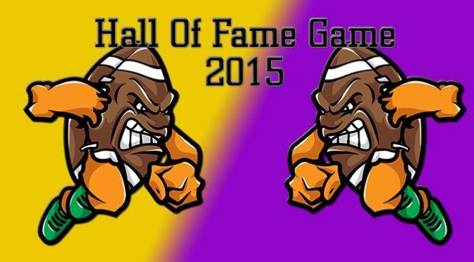 2015 Hall Of Fame Game
