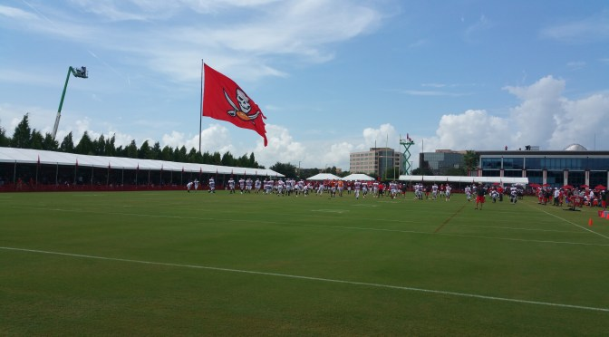 Buccaneers Training Camp