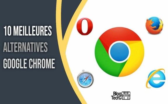 alternatives Google Chrome